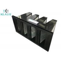 Buy cheap Low Carbon Shedding Mini Pleated Activated Carbon Filter Gas Phase Adsorber product