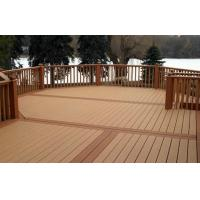 Buy cheap Fully - Recycled WPC Deck Flooring Solid Brown For Walk Road from wholesalers