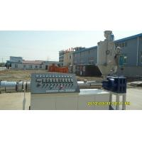 Buy cheap High Speed Plastic Extrusion Machine , Hot Cold Water Pipe Extrusion Line For Water Supply from wholesalers
