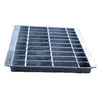 Buy cheap Electroforged Steel Grate Drain Cover, Galvanised Steel Grate And Frame from wholesalers