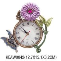 Wholesale Flower Clock Decoration from china suppliers