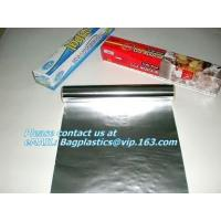 Buy cheap Embossed aluminum foils, parchment paper, cling film, ice cube bag, pommes paper,oven bags from wholesalers