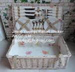 Buy cheap wicker basket wicker picnic basket Cheristmas basket thanksgiving basket from wholesalers