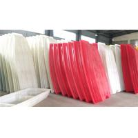 Buy cheap Red White Color Rotational Moulding Products / Plastic Fishing Boats from wholesalers
