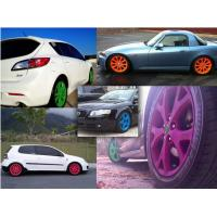 Buy cheap High Gloss Auto Spray Paint / Red Rubber Car Paint Spray CanImpact Resistance from wholesalers