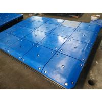 Buy cheap Customized Impingement Sheet Marine Panels Bolted With UHMW - PE Face Pads from wholesalers