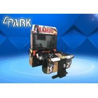 Wholesale Electronic Rambo i Arcade Shooting Arcade Game 2 Player / Light Gun Arcade Cabinet from china suppliers