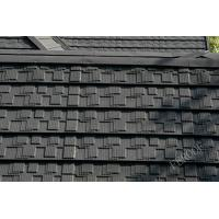 Buy cheap Windproof Corrugated Stone Coated Roofing Tiles Grey , House Exterior Roofing Tiles from wholesalers