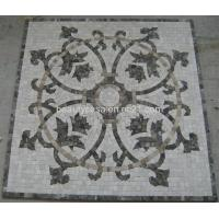 Wholesale Dark Emperador with White Marble Mosaic Medallion from china suppliers