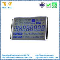 Buy cheap 3.0V 6 O'clock Customized Segment STN Grey LCD Display With White Backlight For KWH/Electricity Meter from wholesalers