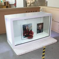 Buy cheap Custom Made Transparent LCD Screen For Advertising 500 Nits Brightness from wholesalers
