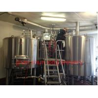 Wholesale stainless steel beer fermentation tanks 3000l micro brewing equipment from china suppliers