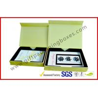 Buy cheap Luxury Paper Rigid Gift Boxes, Magnetic Custom Printed Packaging Boxes with PS tray from wholesalers