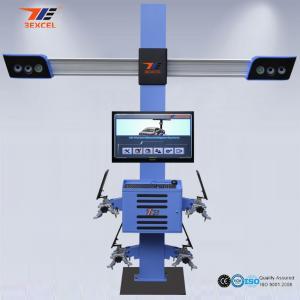 China Mobile Truck Wheel Wireless Alignment Equipment Auto Wheel Balancing Professional on sale
