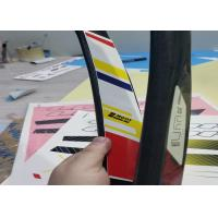 Buy cheap Pantone Color Decorative Bicycle Frame Decals OEM / ODM Available from wholesalers