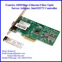 Buy cheap 1000Mbps Server Ethernet Network Adapter SFP Slot*1 Network Card PCI Express Bus Interface Card  Femrice 10001PF from wholesalers