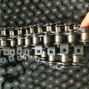 Durable Single Strand Roller Chain , Transmission Roller Chain ANSI Standard