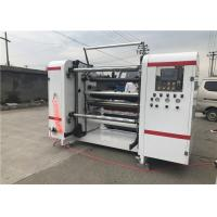 Buy cheap Central Surface Paper Slitting And Rewinding Machine , Film Slitting Machine Servo Motor Controlled product