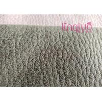 Buy cheap Suede Upholstery Shoes Fabric 100% Polyester Easy Clean For Stretch Boots from wholesalers