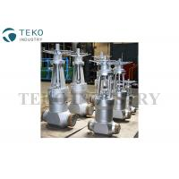 Buy cheap Fully Open / Close High Temperature Gate Valves With Flange End Butt Weld End from wholesalers
