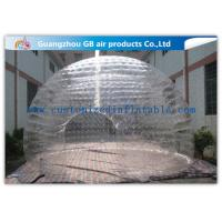 Buy cheap Light Weight Transparent Inflatable Wedding Tent Clear Plastic Dome Tent from wholesalers