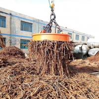 Buy cheap Excavator Magnet Lifting Electromagnet Permanent Magnetic 2 Tons 900mm Diameter from wholesalers