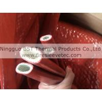 Silicone rubber coated fiberglass Fire Jacket Protective Sleeve Manufactures