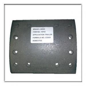 Wholesale truck brake lining,drum brake lining WVA19782, brake parts from china suppliers