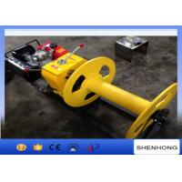 Buy cheap Cable Pulling Gas Powered Winch Air Cooled Diesel Engine 840×600×500 from wholesalers