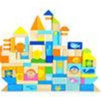 Buy cheap Creative Thinking Ocean Scene Children Wooden Toy Blocks Castle Buildings from wholesalers