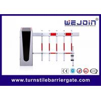Buy cheap 3 Fence Boom Type Parking Barrier Gate With Permanent Magnet Synchronous Motor from wholesalers