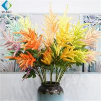 Wholesale Flocked Branch Artificial Wedding Bouquet , Colorful Bride Holding Bouquet from china suppliers