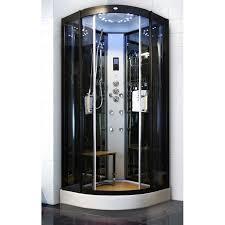 Sliding Open Style Corner Steam Shower Bath Cabin Spa Shower Units With Radio