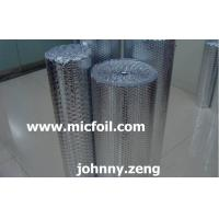 Buy cheap Single Pure Aluminum Foil With Double Bubble Thermal/Heat Insulation from wholesalers