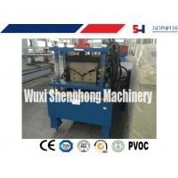Buy cheap ISO Hydraulic Roof Ridge Cap Roll Forming Machine with Industrial GCr15 Roller from wholesalers