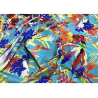 Buy cheap Mini Floral Printed Bikini Fabric Material , 180gsm Lycra Bathing Suit Fabric from wholesalers