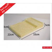 Buy cheap Durable RHOS Acrylic Display Stands , Plexiglass Marbel Food Serving Tray from wholesalers