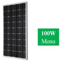 Wholesale 100W 12v Monocrystalline Solar Panel For Home from china suppliers