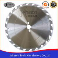 Buy cheap 105-450mm Wood Cutting Blade , Wood Saw Blade HS Code 84669200 from wholesalers