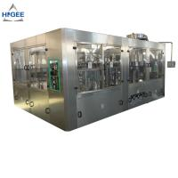 Buy cheap Automatic 3 In 1 Monoblock Beer Filling Machine Production Line 50 - 80mm Bottle Diameter from wholesalers