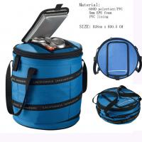 Buy cheap Folded tube lunch bag, expand elastic cooler bag, new design picnic bag, outdoor sports from wholesalers