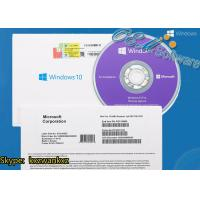 Buy cheap Sealed Windows 10 Pro Oem Pack Online Activation 64 Bit Win 10 DVD Pack Box from wholesalers