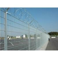 Buy cheap Razor Barbed Airport Security Fence Q195 Steel Strong Welded Point Anti Corrosion from wholesalers