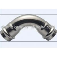 Buy cheap Stainless Steel Press Fit Plumbing Fittings 90d Elbow Corrosion Resistance from wholesalers