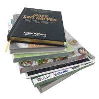 Buy cheap Hardcover Custom Cookbook Printing Full Color Brochure Printing ISO9001 Approved from wholesalers