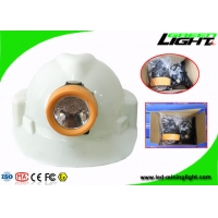 Buy cheap Waterproof IP68 Cordless Mining Cap Lamps 10000 Lux ABS Material With USB Charger from wholesalers