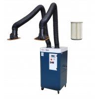 Buy cheap Aluminum Alloy Plate Welding Industrial Fume Extractor from wholesalers