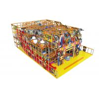 Wholesale Childrens Indoor Soft Playground Equipment Anti - Static For Amusement Park from china suppliers