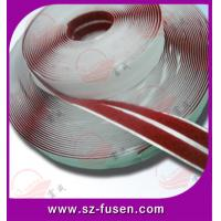 Heat Melt Glue Red Velcro Self Adhesive Nylon And Polyester Customised Manufactures