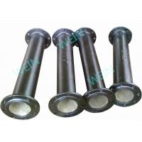 Wholesale Two Ends Flanged 100mm Ductile Iron Pipe Internal Cement Lining External Zinc from china suppliers